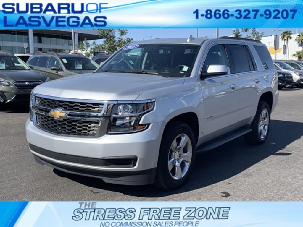 Chevrolet Las Vegas >> Used 2018 Chevrolet Tahoe For Sale At Subaru Of Las Vegas Vin 1gnscbkc4jr121718