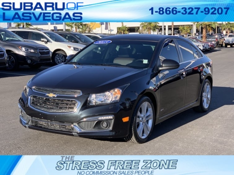 Used 2015 Chevrolet Cruze LTZ Sedan in Las Vegas