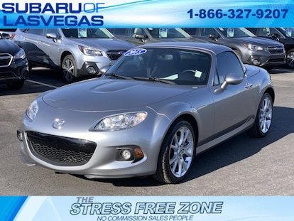 Used 2015 Mazda Miata For Sale at Subaru of Las Vegas   VIN:  JM1NC2PF0F0241231