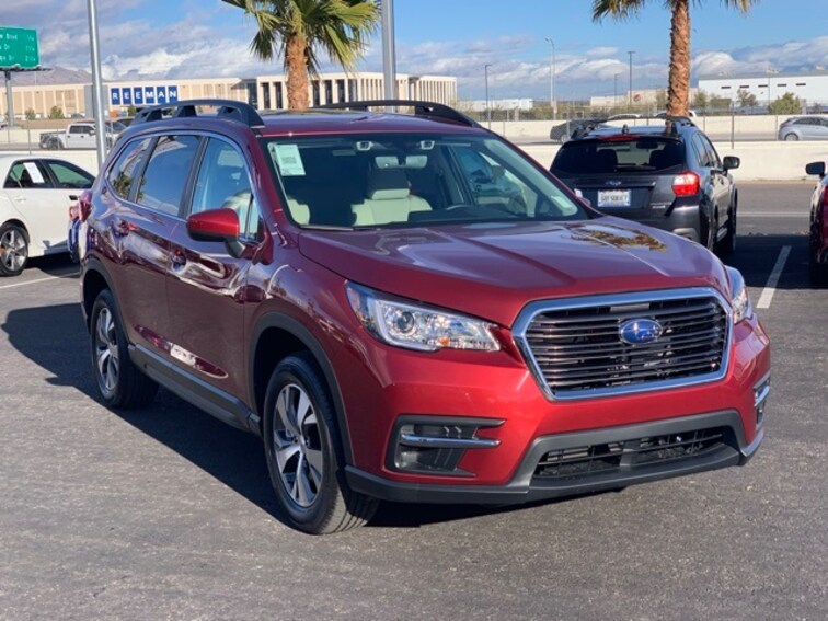 New 2019 Subaru Ascent Premium 7-Passenger SUV L14513 4S4WMAFD0K3450985 in Las Vegas