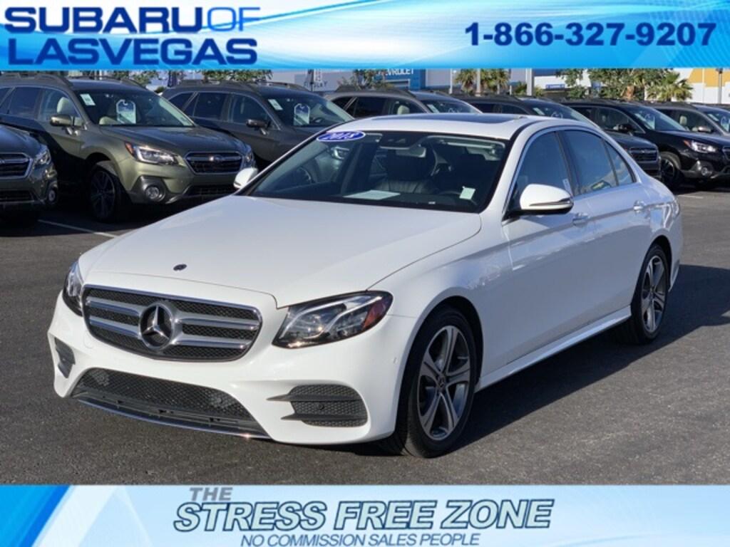 Mercedes Benz Las Vegas >> Used 2018 Mercedes Benz E Class For Sale At Subaru Of Las Vegas Vin Wddzf4kb0ja304975