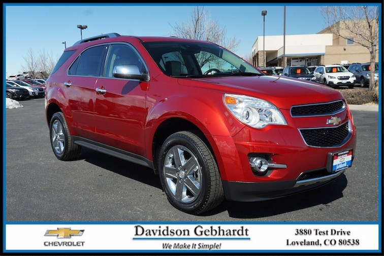 Used 2015 Chevrolet Equinox LTZ AWD  LTZ Loveland