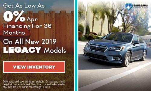 2019 Subaru Legacy Finance - June