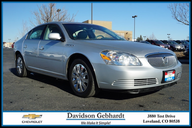 Used 2009 Buick Lucerne CXL Special Edition Sedan Loveland