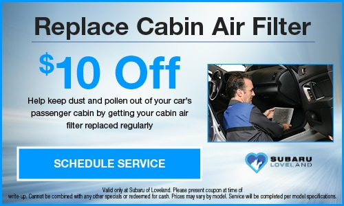 Replace Cabin Air Filter