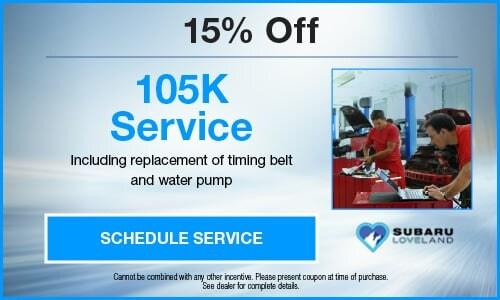15% Off 105K Service