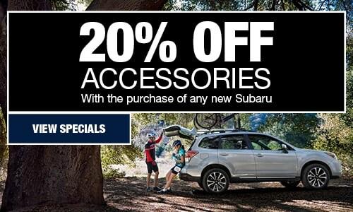 Parts Specials | Subaru of Loveland