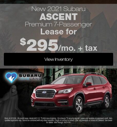 New 2021 Subaru Ascent Premium 7-Passenger
