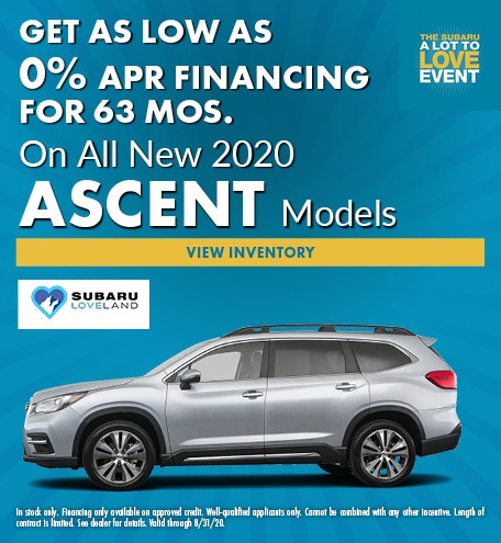 Get As Low As 0% APR Financing for 63 Mos.