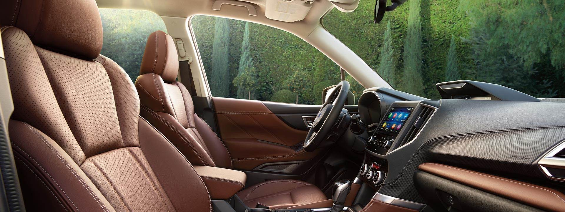2021 Subaru Forester Interior Picture