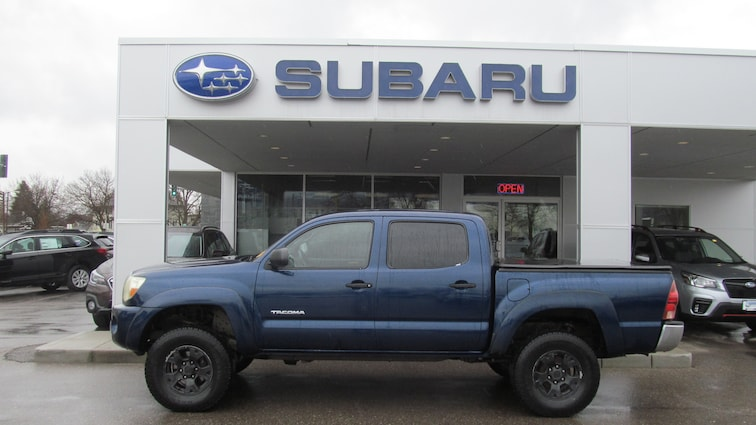 Used 2006 Toyota Tacoma DBL CAB 4WD AT Truck Double-Cab Missoula, MT