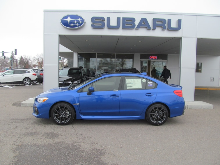 New 2019 Subaru WRX Premium (M6) Sedan for sale in Missoula, MT