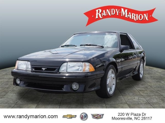 Used 1993 Ford Mustang Cobra For Sale In Mooresville Nc Vin