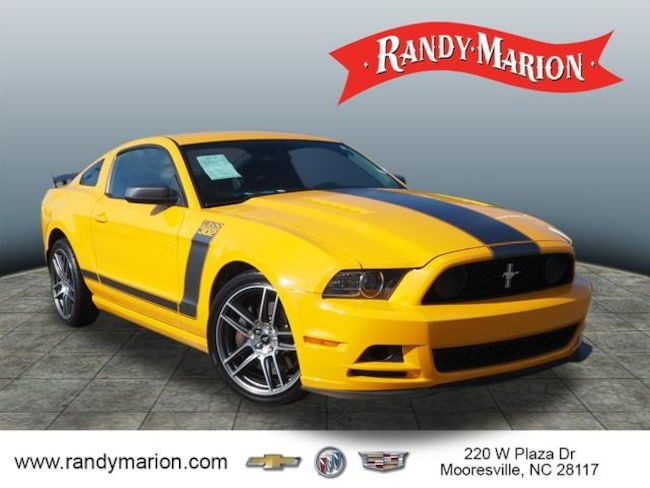 Used 2013 Ford Mustang Boss 302 For Sale In Mooresville Nc Vin