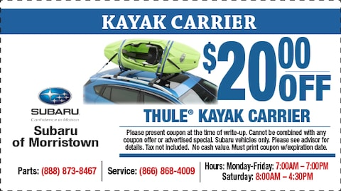 Thule Kyak Carrier