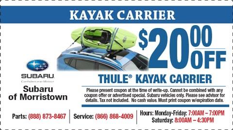 Thule Kyak Carrier