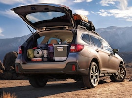Exterior of the 2018 Subaru Outback