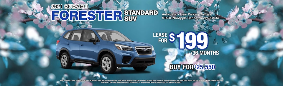 2021 Subaru Forester Offer