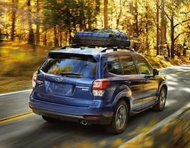 Exterior of the 2017 Subaru Forester