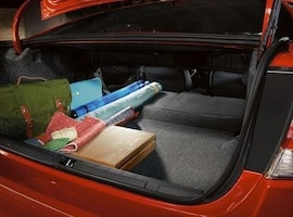 Cargo space in the new Subaru Impreza