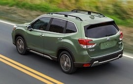 Exterior of the 2019 Subaru Forester