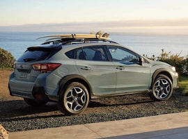 Exterior of the 2018 Subaru Crosstrek