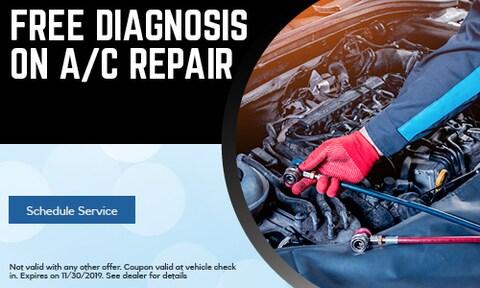 Free Diagnosis on A/C Repair