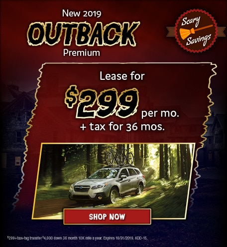October 2019 Outback Special