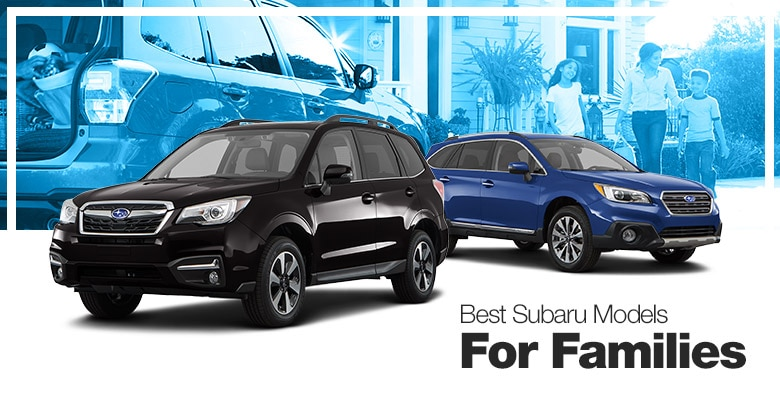 Best Subaru Models for Families
