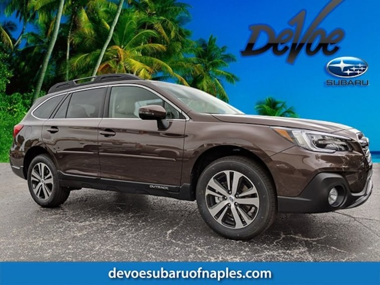 New 2019 Subaru Outback 2.5i Limited SUV in Naples, FL