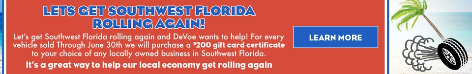 Let's Get Southwest Florida Rolling Again