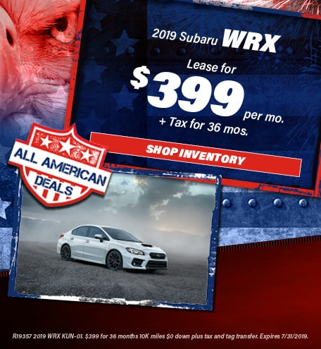 July 2019 WRX Special