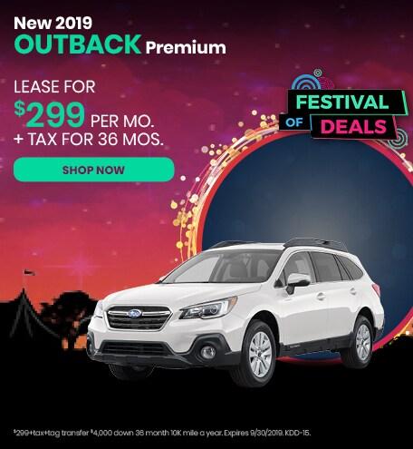 September 2019 Outback Special