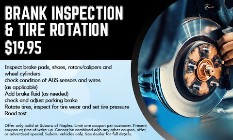 Brake Inspection and Tire Rotation