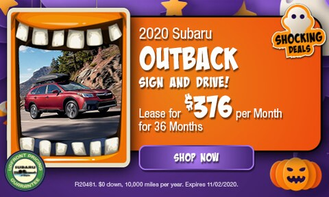 October 2020 Outback Special