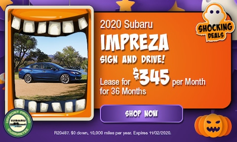 October 2020 Impreza Special