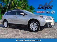 Certified 2018 Subaru Outback 2.5i SUV 4S4BSACC9J3276302 Naples