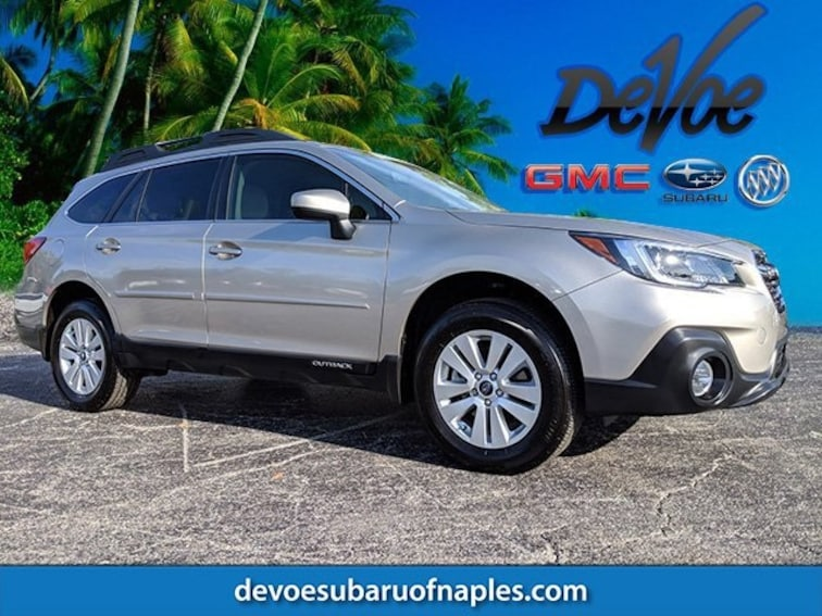 Used 2018 Subaru Outback 2.5i SUV in Naples, FL