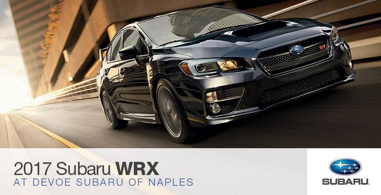 2017 Subaru Wrx In Naples Florida Subaru Of Naples