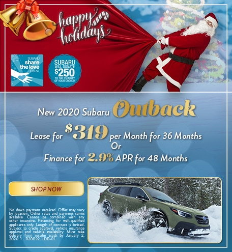 December 2020 Outback Special