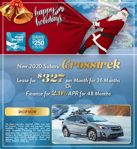 December 2020 Subaru Crosstrek