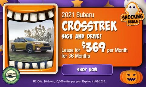 October 2021 Crosstrek Special
