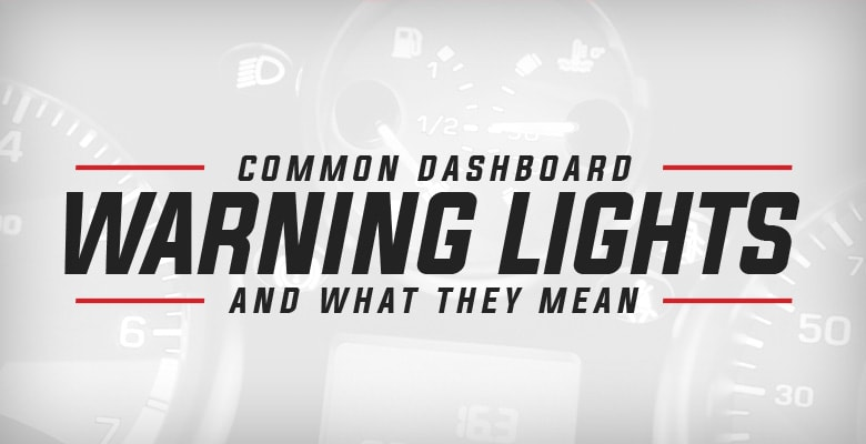Common Dashboard Warning Lights