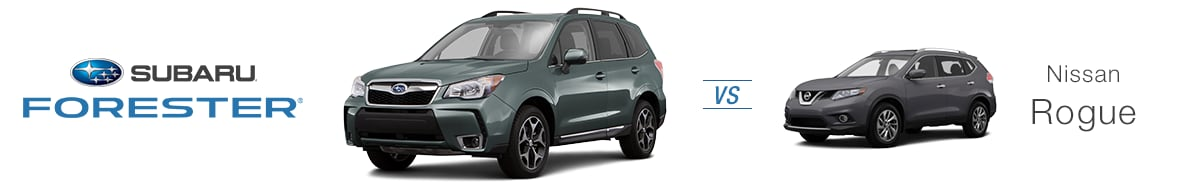 Forester Vs. Rogue. The 2016 Subaru Forester Staves Off Its Competition.  Should You Now Be Interested In Making It Yours, Join Us At Schaller Subaru,  ...