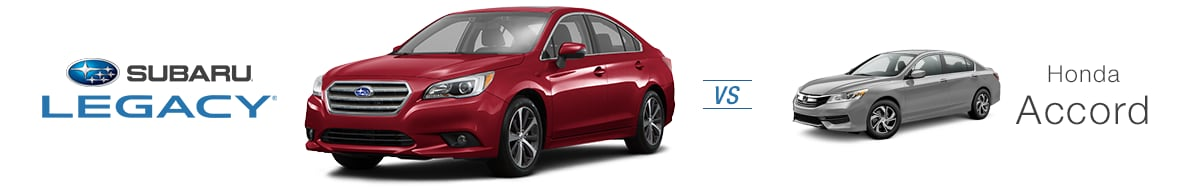 subaru legacy vs honda accord compare the subaru legacy in norwood ma. Black Bedroom Furniture Sets. Home Design Ideas