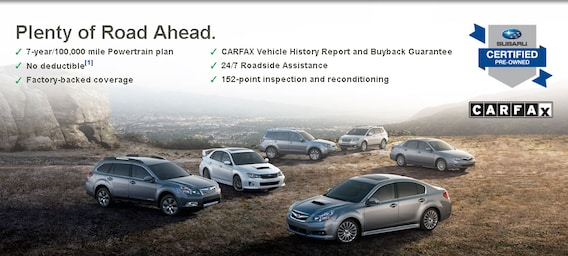 Subaru Certified Pre Owned >> Subaru Certified Pre Owned Information