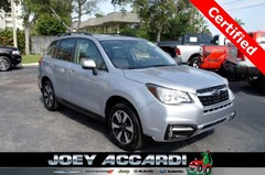 Used 2018 Subaru Forester 2.5i Limited SUV JF2SJALC4JH405364 in Pompano Beach