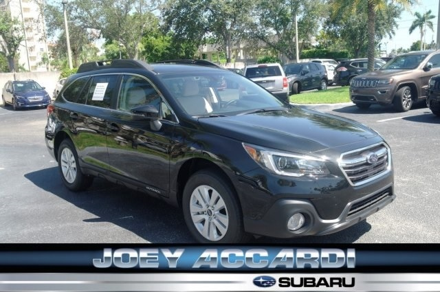 Featured New 2018 Subaru Outback 2.5i Premium with EyeSight, Blind Spot Detection, Rear Cross Traffic Alert, Power Rear Gate, High Beam Assist, Moonroof, Navigation, and Starlink SUV in Pompano Beach
