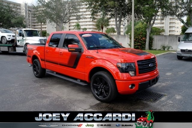 Featured Used 2014 Ford F-150 Truck SuperCrew Cab in Pompano Beach