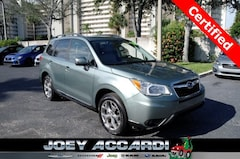 Certified Pre-Owned 2016 Subaru Forester 2.5i Touring SUV JF2SJAXC5GH486118 in Pompano Beach, FL